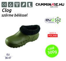 Camminare – Clog EVA klumpa EVA cipő + szőrme bélés