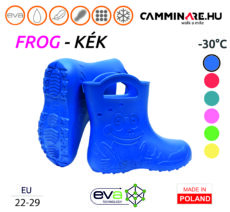 Camminare – Frog EVA gyerekcsizma KÉK (-30°C)