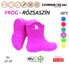Camminare – Frog EVA gyerekcsizma RÓZSASZÍN (-30°C)