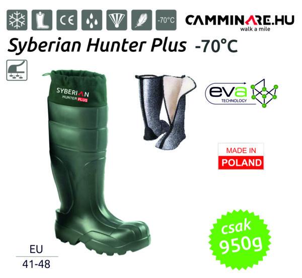 Camminare – Syberian Hunter Plus EVA vadászcsizma ZÖLD (-70°C)