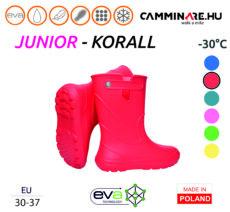 Camminare – Junior EVA gyerekcsizma KORALL (-30°C)