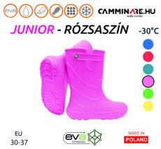Camminare – Junior EVA gyerekcsizma RÓZSASZÍN (-30°C)