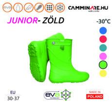 Camminare – Junior EVA gyerekcsizma ZÖLD (-30°C)