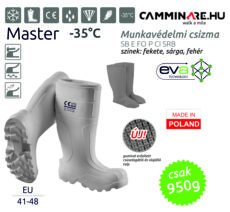 Camminare – MASTER EVA munkavédelmi csizma FEHÉR (-35°C)