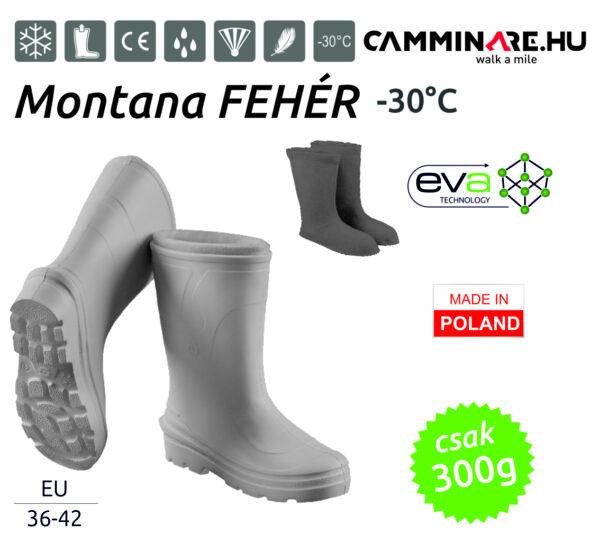 Camminare – Montana női EVA csizma FEHÉR (-30°C)