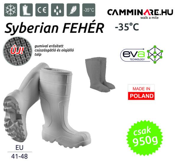 Camminare – Syberian EVA csizma FEHÉR (-35°C)