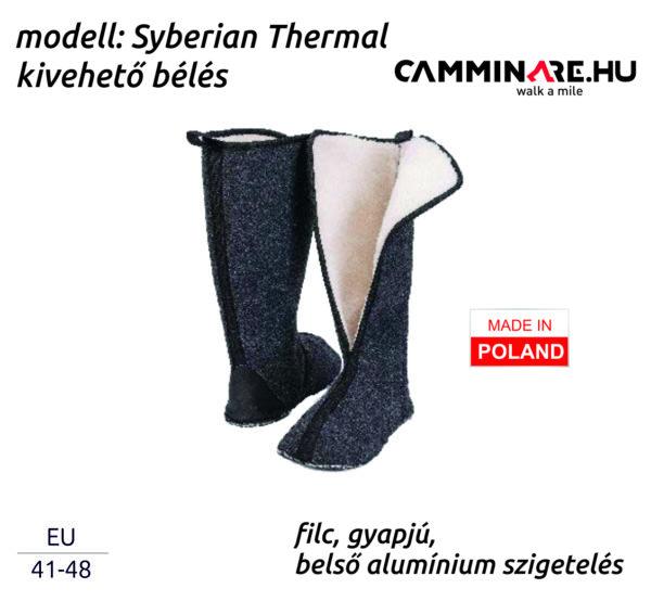 Camminare – Syberian Thermal EVA csizma bélés