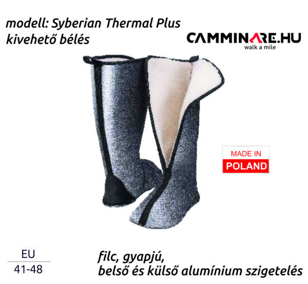 Camminare – Syberian Thermal Plus EVA csizma bélés