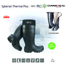 Camminare – Syberian Thermal Plus EVA csizma FEKETE (-70°C)