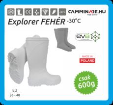 Camminare – Explorer EVA csizma, FEHÉR (-30°C)