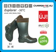 Camminare – Explorer EVA csizma ZÖLD (-30°C)