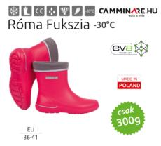Camminare – Róma női EVA csizma Fukszia (-30°C)