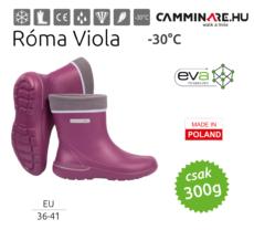 Camminare – Róma női EVA csizma Viola (-30°C)